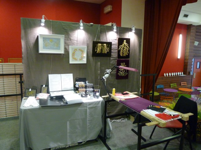 Mon stand au salon de limoges brod 39 or for Salon limoges
